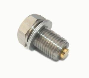 Gold Plug Magnetic Sump Plug M14 x 1.5 Mercedes, VW, Volkswagen, Audi, Honda