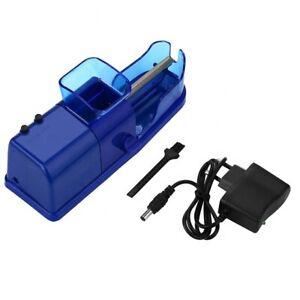 Blue Electric Automatic Cigarette Tube Injector Roller Maker Tobacco Machine