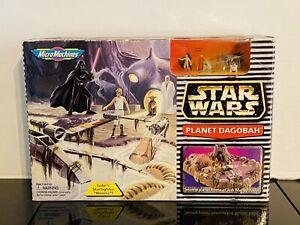 Micro Machines 1996 STAR WARS Planet Dagobah Set w/ Figures - NIB!!!