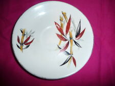 """Retro Alfred Meakin Glo-White """"Bamboo"""" Saucer - lovely"""