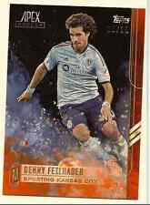BENNY FEILHABER 2015 TOPPS MLS APEX ORANGE PARALLEL /25