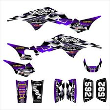 TRX250R Graphics TRX 250R 250 R decal sticker kit NO2500 Purple