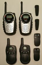 Lot Of 4 Columbia FRS22SPR  & Uniden GMRS 520 Two Way Radio Walkie Talkie
