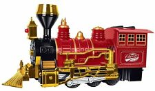 Christmas Train, Kids Railroad Train, Red Classic Train, with Lights and...