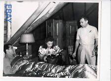 Director Wwsley Ruggles Babara Stanwyck Henry Fonda VINTAGE Photo candid on set