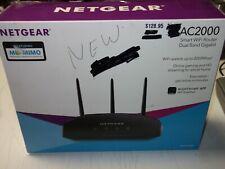 NETGEAR AC2000 Dual Band Gigabit Smart WiFi Router Fastest free shipping
