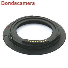 Advanced EMF AF confirm M42 lens to Canon EOS EF adapter 5D II 6D 7D 70D Black