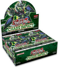 1x  Chaos Impact: 1st Edition: Booster Box Brand New Sealed Product - Yu-Gi-Oh!