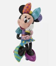 Romero Britto Disney Minnie Mouse Figurine 4045142 EUC Small In Box