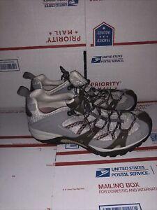 Merrell Womens Siren Sport Elephant Pink Hiking Vibram Shoes Size 9.5