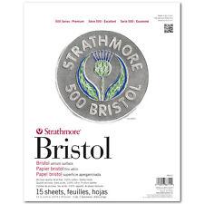 Strathmore 500 Bristol 2Ply Vellum 11X14 Pad