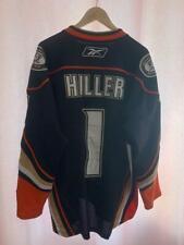 NHL ANAHEIM DUCKS USA ICE HOCKEY SHIRT JERSEY MAGLIA JONAS HILLER #1