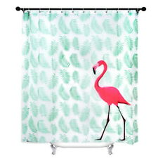 Modern Bathroom Shower Curtain Waterproof Extra Long Fabric Hooks 180x200cm Ilj