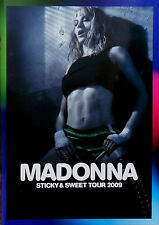 MADONNA * REVISED STICKY & SWEET TOUR PROGRAMME * 2009 * BN&M! * HARD CANDY