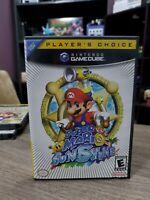 Super Mario Sunshine (GameCube, 2002) Box Only