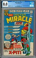 Mister Miracle #2 CGC 8.0 1st App Granny Goodness Jack Kirby