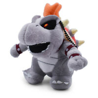 "Super Mario Bro Dry Bowser Bones Koopa 5"" Stuffed Animal Nintendo Game Plush Toy"