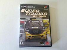 PlayStation 2 Super Trucks Racing Disc Manual Case