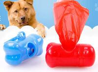 Pet Dog Puppy Bone Shape Pick-Up Waste Garbage Bag Dispenser Holder Case Tools