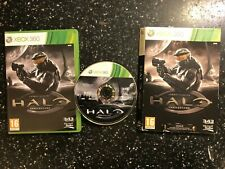 XBOX 360 GAME HALO COMBAT EVOLVED ANNIVERSARY +BOX PAL