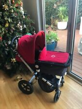 Bugaboo Cameleon Red Single Stroller, 5 accessories including carseat adapter