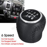 6 Speed Gear Shift Knob Stick For Citroen Jumper Relay Peugeot Boxer Fiat Ducato