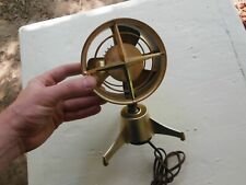 """Vintage Rotron 5"""" Mid Century Small Table Personal Fan RARE Model PN 2L2 Works"""