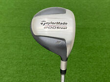 NICE TaylorMade Golf 200 STEEL (3) WOOD Right Handed Steel Precision S-90 STIFF