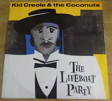 """Kid Creole & The Coconuts, The Lifeboat Party 12"""", Island Recprds"""
