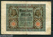 ALLEMAGNE - 1920, BILLET 100 MARK, GERMANY, BERLIN