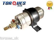 Bosch 0580 254 044 External Fuel Pump With Billet Cradle / Mount In BLACK