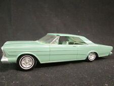 1966 FORD GALAXY 500, SEAFOAM GREEN 2DR VINTAGE PROMOTIONAL 1/25 SCALE MODEL