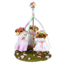 Wee Forest Folk Miniature Figurine M-482 - May Day Merriment