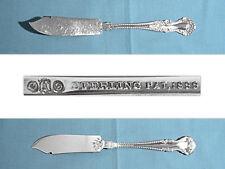 Gorham / Alvin Sterling Flat Handle Master Butter ~ Cambridge ~ No Mono