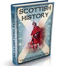 History of Scotland  Old Books on DVD Tartan Wallace Bannockburn Picts Highlands