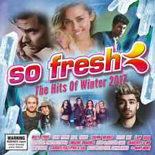 So Fresh: Hits of Winter 2017 by Various Artists (CD, Jun-2017, Sony Music)