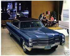 1966 Cadillac Coupe Deville in Showroom, Refrigerator Magnet, 40 MIL