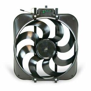 "Flex-A-Lite 109304 15"" Black Magic S-Blade reversible electric fan NEW"