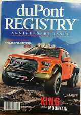 DuPont Registry April 2017 Hennessey Velociraptor 6x6 Ford Robb FREE SHIPPING
