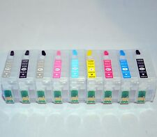 refillable ink cartridge for EPSON R3000 cis ciss with Battery-less ARC T157 157