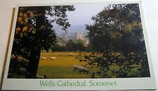 England Wells Cathedral Somerset PSM00849 DRG J Arthur Dixon - posted 1990