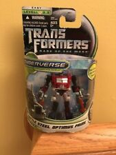 Battle Steel OPTIMUS PRIME Transformers Dark of the Moon DOTM Cyberverse