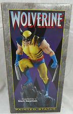 BOWEN Designs WOLVERINE Yellow Painted ACTION STATUE X-MEN Logan Sideshow bust