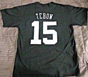 Tim Tebow New York Jets NFL Football GILDAN T-shirt  Large
