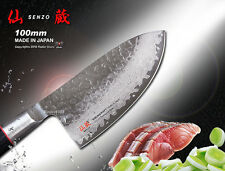 "Japanese Damascus VG-10 Steel Mini Chef's Knife 4"" Meat Slicer Flatware Cutlery"