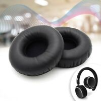 Black 2Pcs Replacement Ear Pads Cushion Earpads For AKG N60NC Headphones Headset