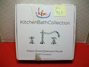 BRAND NEW KBC KITCHENBATHCOLLECTION CLASSIC CHROME BATHROOM FAUCET #KBC-FACLCH