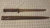 *** YUGOSLAVIAN *** M1924 FIGHTING TRENCH KNIFE & scabbard M24 MATCHING NUMBERS