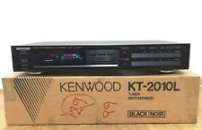 Kenwood KT-2010L AM/FM Analogue Stereo Tuner - BOXED