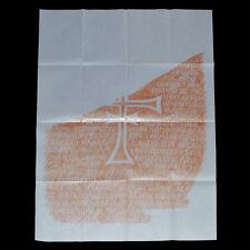Indiana Jones Replica Prop - Grail Tablet Rubbing - Bottom Portion Only